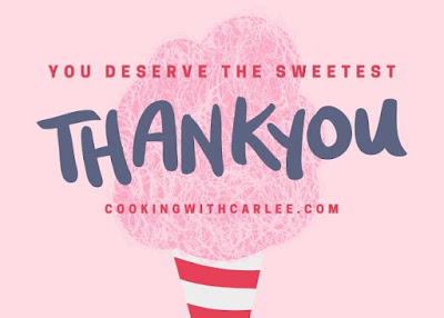 you deserve the sweetest thank you