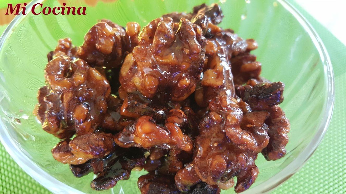 mi cocina nueces fritas con miel receta china pero con