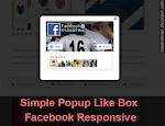 Cara Membuat Facebook PopUp Like Box Responsive