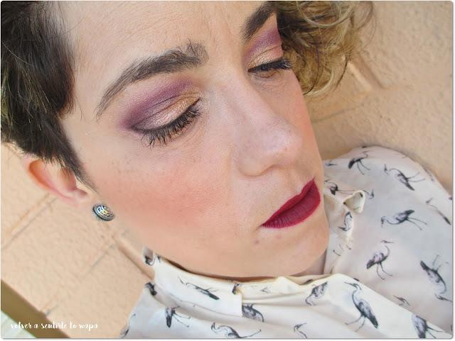 Cream Lipstick en el tono Cherry Skies de Nyx Liquid Suede