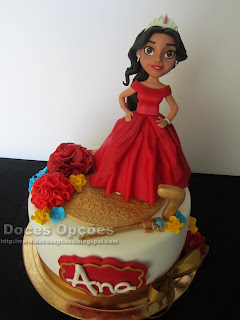disney Elena of Avalor birthday cake