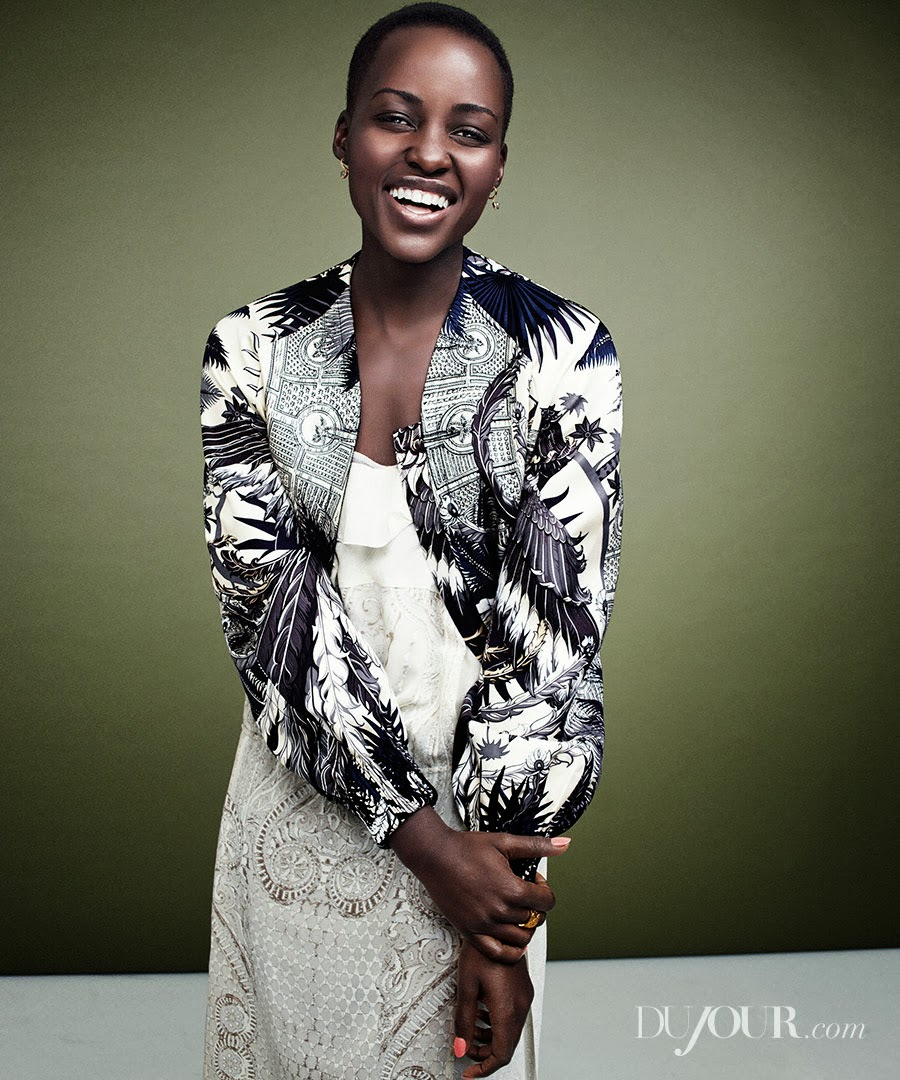 Afrolistas and the City™: Lupita Nyong'o for DuJour ...