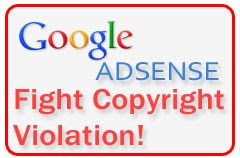 Google AdSense - Fight Against piracy