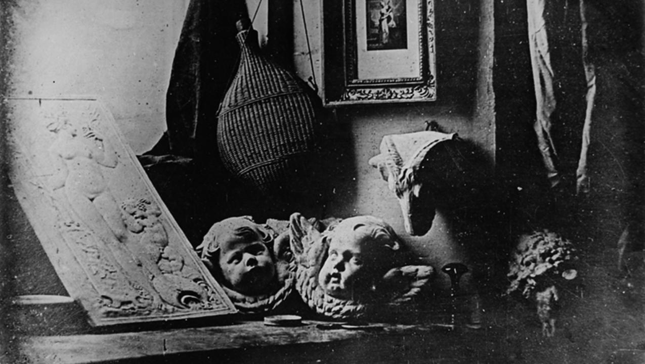 Primeira imagem a ser registra com sucesso pelo processo de Louis Daguerre