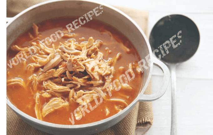 Mexican Chicken Tortilla Soup recipe, Mexican food Tortilla recipe