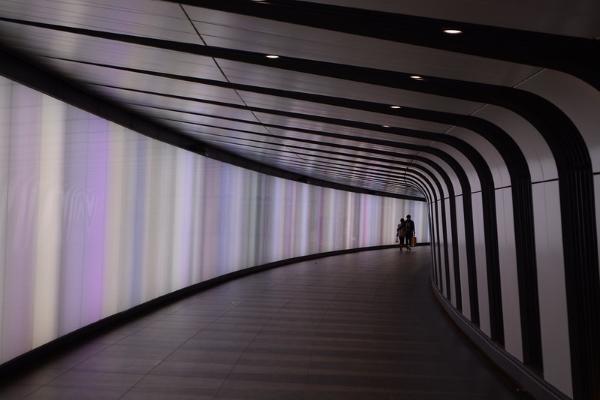 led wall-metropolitana-Londra