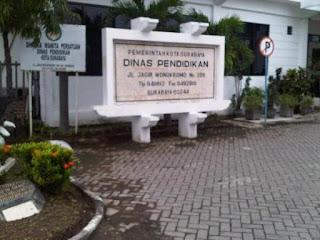 Alamat Kantor Dinas Pendidikan Kota Surabaya