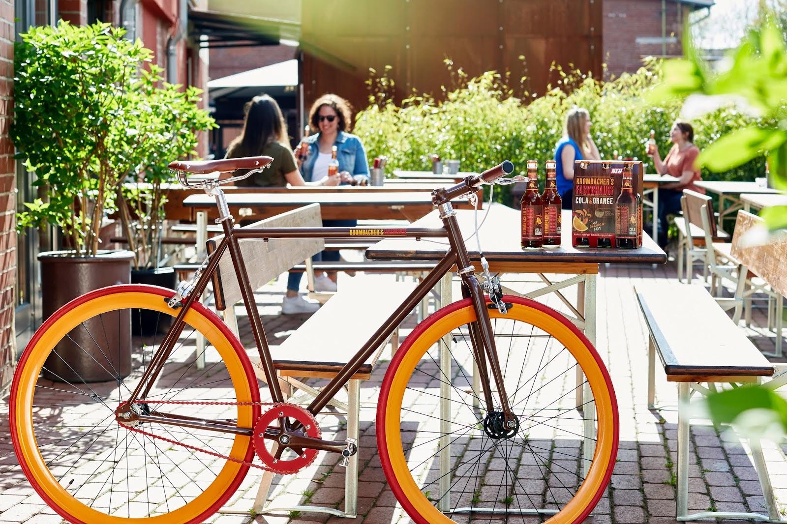 Das Atomlabor x Krombacher's Fassbrause Fahrrad Gewinnspiel