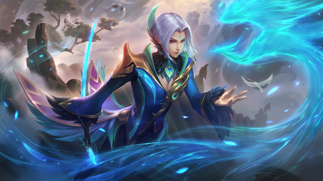 Ling Cyan Finch Heroes Assassin of Skins ML HD Wallpapers