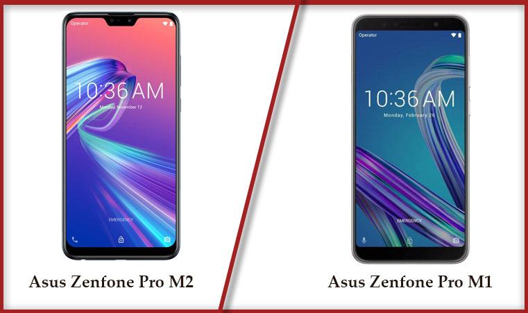 Asus zenfone max pro m1 vs asus zenfone pro m2