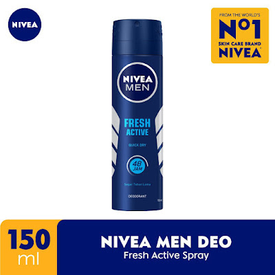 Nivea Men Deodorant Fresh Active Spray