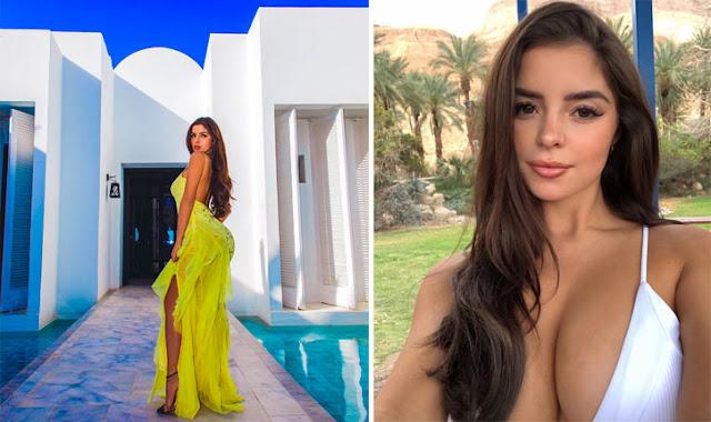 """""""دومي روز"""" عارضة الأزياء البريطانية تروج لسياحة التونسية 2019 (صور)"""