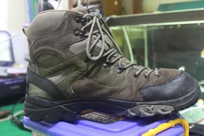Review Sepatu Gunung Eiger W134
