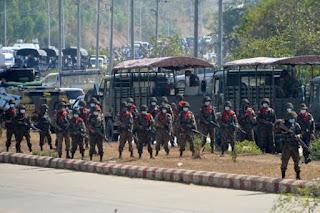 Tak Gentar Dengan Militer, Demonstran Myanmar: Kami Harus Berjuang Sampai Akhir!