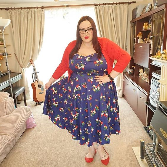 Collectif x Modcloth Gnome Dolores Dress