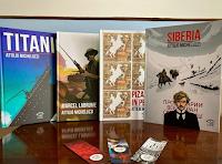 """Logo Vinci gratis buoni sconto da 5 euro e 4 libri : """"Marcel Labrume"""", """"Pizarro in Perù"""", """"Siberia"""" e """"Titanic"""""""