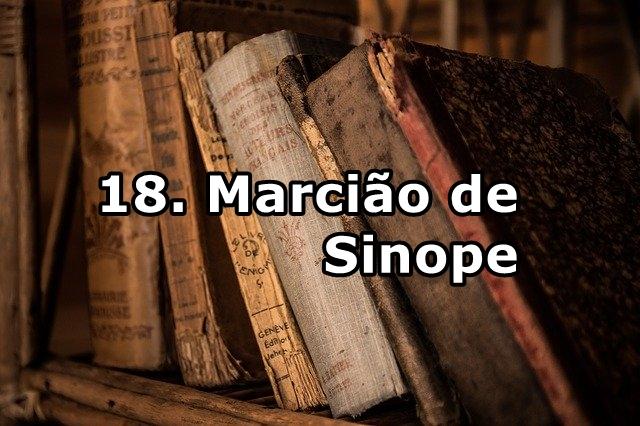 18. Marcião de Sinope