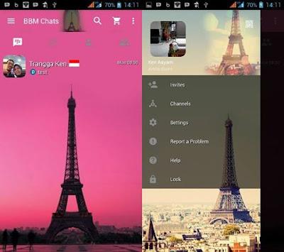 BBM Mod Eiffel v2.13.1.14 Apk