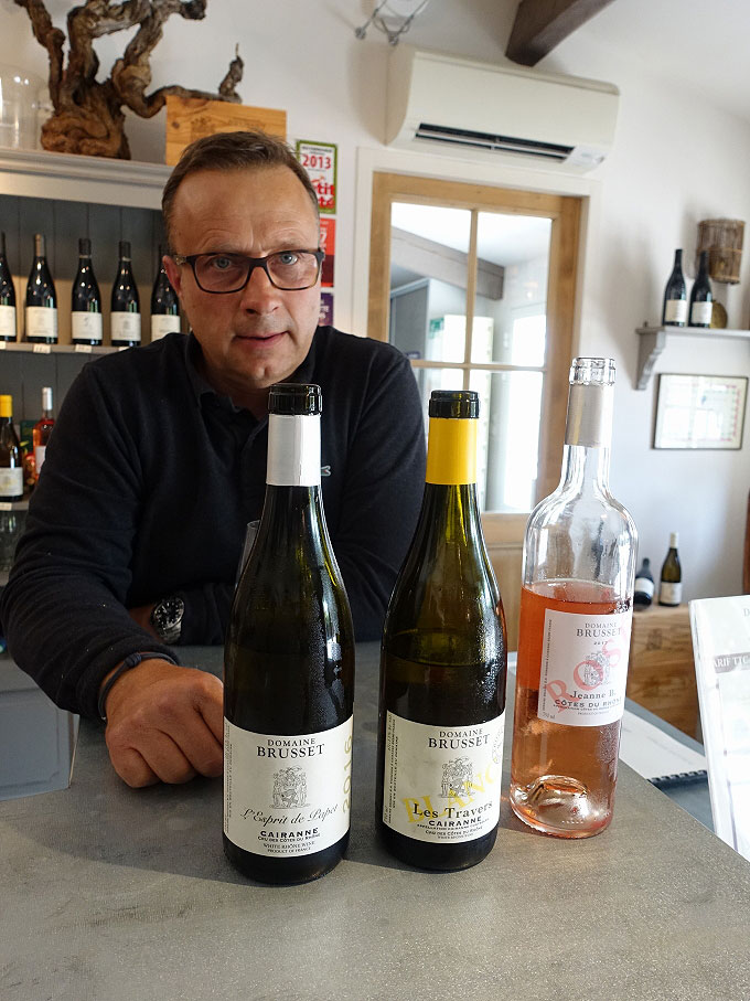 Laurent Brusset, Domaine Brusset