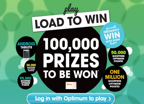 Shoppers Drug Mart Load To Win Contest