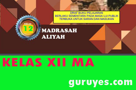 Download Buku Digital MA Kelas XII Revisi 2020