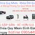 Khóa Ôtô Quy Nhơn Đồng Giá 450.000đ