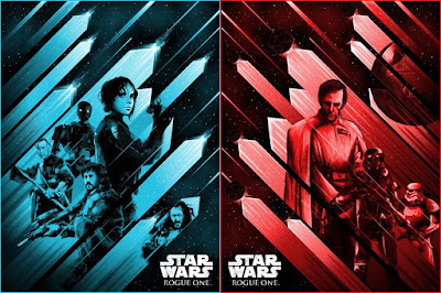 "Star Wars: Rogue One ""Rebellion Rising"" & ""Immeasurable Power"" Screen Prints by Arno Kiss x Dark Ink Art"