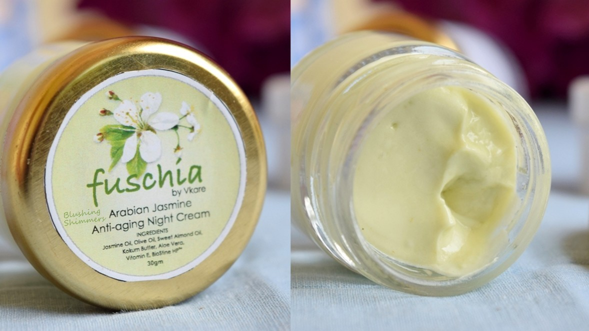 Fuschia Arabian Jasmine Anti-Aging Night Cream Review