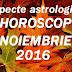 Aspecte astrologice în horoscopul noiembrie 2016