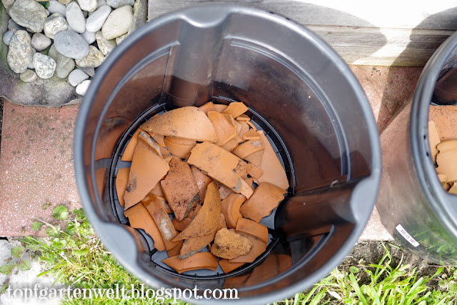 Drainage | PotatoPot | Kartoffeln pflanzen | Anbau im Topf - Gartenblog Topfgartenwelt