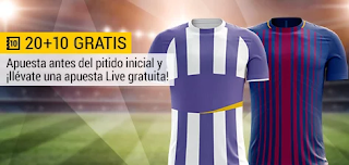 bwin promocion 10 euros Valladolid vs Barcelona 25 agosto