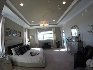 Toscana Isles new luxury model home master bedroom