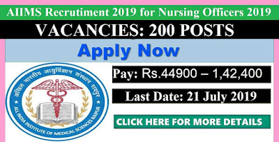 AIIMS Raipur Recruitment 2019