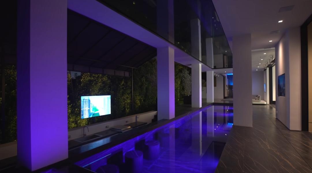 59 Interior Design Photos vs. 1369 Londonderry Pl, Los Angeles, CA Ultra Luxury Mansion Tour