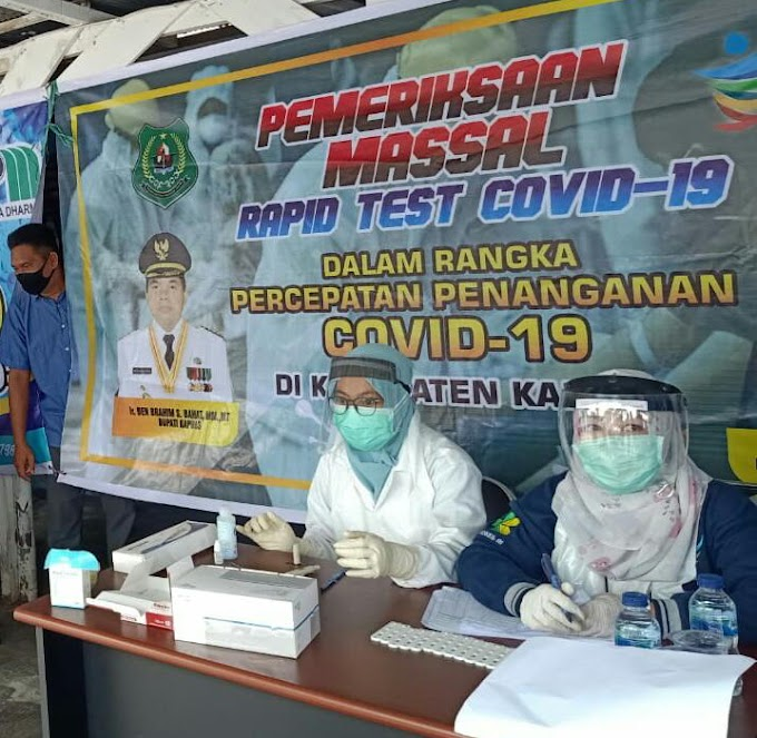 Warga Sudah Bosan Berita COVID-19 Karyawan PDAM Kapuas Di-rapid Test