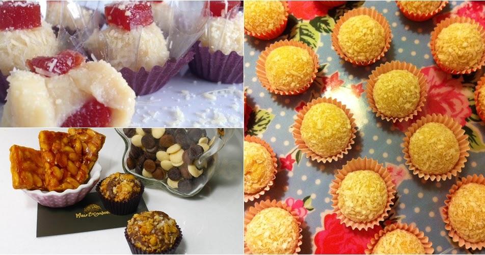 5 receitas de brigadeiros para festa junina - Amando Cozinhar ...