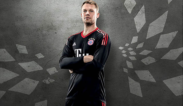 7d2ef0c20 Awesome Bayern München 17-18 Goalkeeper Home Kit Released - Footy ...