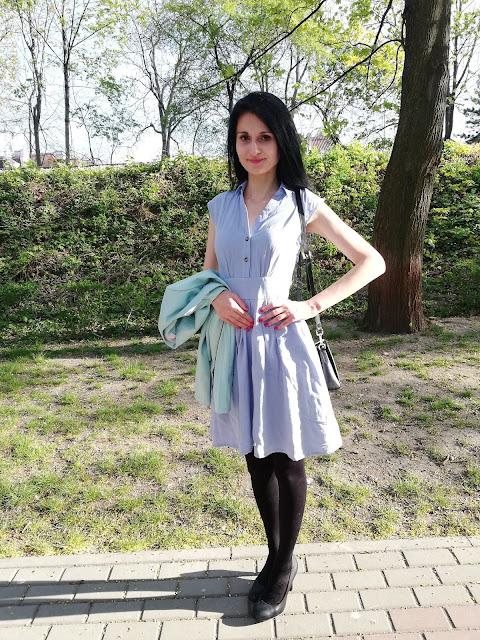 Orsay błękitna szmizjerka