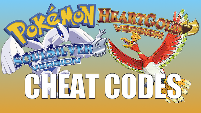 Cheat Codes for Pokemon Soul Silver & Heart Gold iNDS iOS