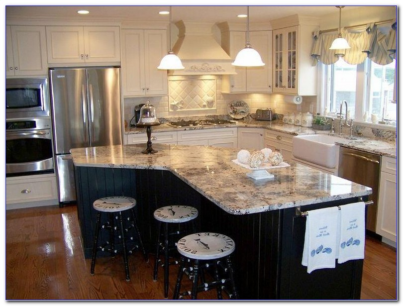 Kitchen Island Shapes Home Interior Exterior Decor Design Ideas