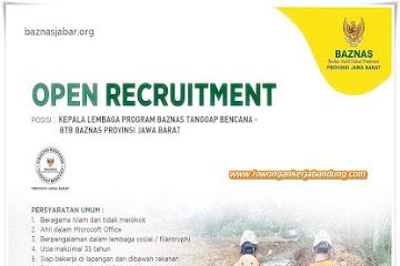 Lowongan Kerja Bandung Kepala Baznas Jabar