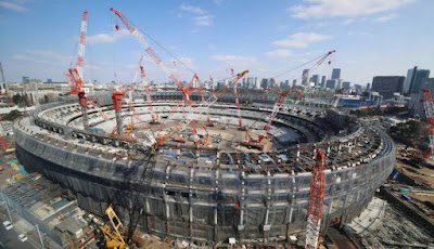 Tokyo Olympics stadium construction and details