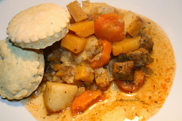Beef Stew with Buttery Sage Crust