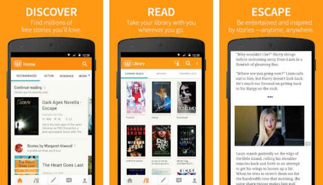 baca novel gratis terbaru di android dengan wattpad