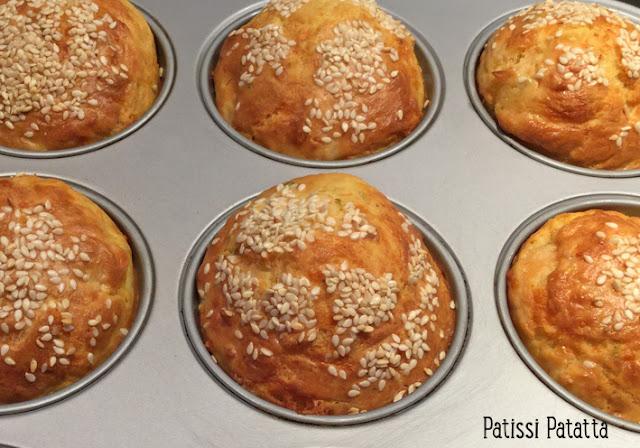 recette de muffins au saumon fumé, muffins salés, muffins saumon et coeur de babybel, apéritif, entrée, saumon fumé,