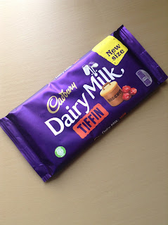Cadbury Dairy Milk Tiffin New Size Bar