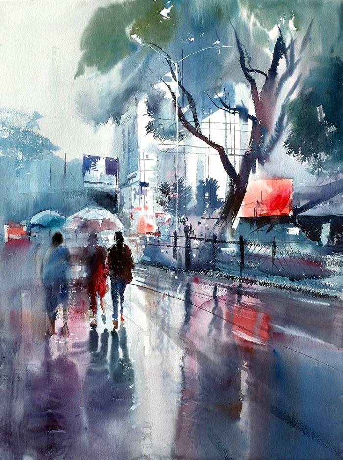 Индийский художник. Milind Mulick