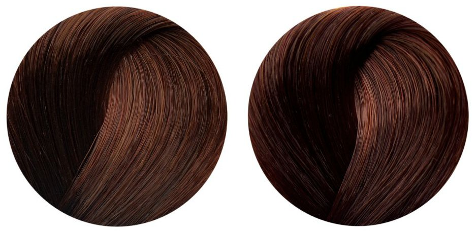 ... Color Brilliance Permanent Color in Medium Red Brown & Dark Red Brown