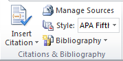 fungsi citations and bibliography di microsoft word