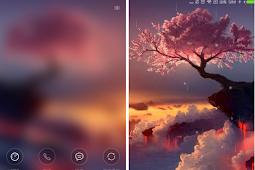 Tema Xiaomi Cherry Blossom Tree Mtz
